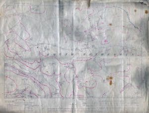 1907 South Petherwin Map