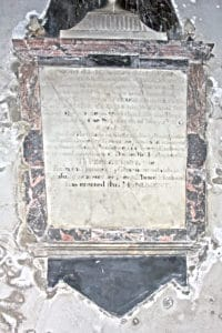 Memorial to Mary Cocke Morgan