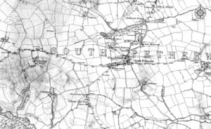 1841 South Petherwin Map