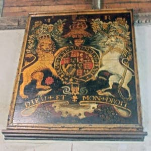 The Royal arms of James I