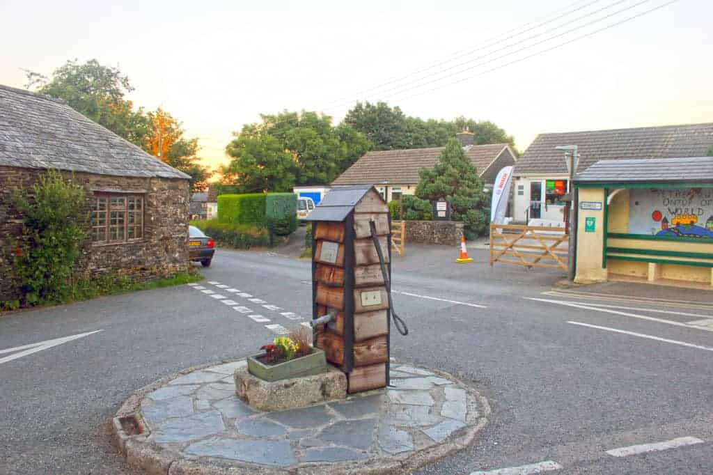 South Petherwin Village Pump Summer 2016. Copyright Roger Pyke
